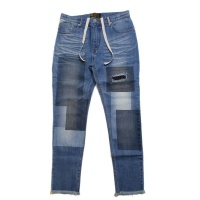 Paint Patchwork Denim