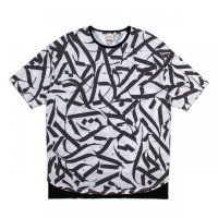 Geometric Pattern Crew Neck
