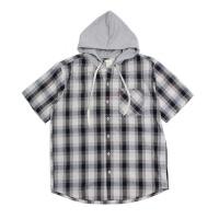 Check Hoodie Shirt