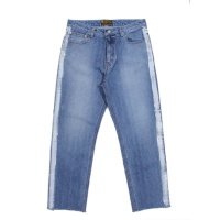 Paint Line Loose Denim Pants