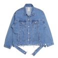 画像1: Oversize Destroyed 3rd Type Denim Jacket (1)