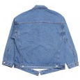 画像2: Oversize Destroyed 3rd Type Denim Jacket (2)