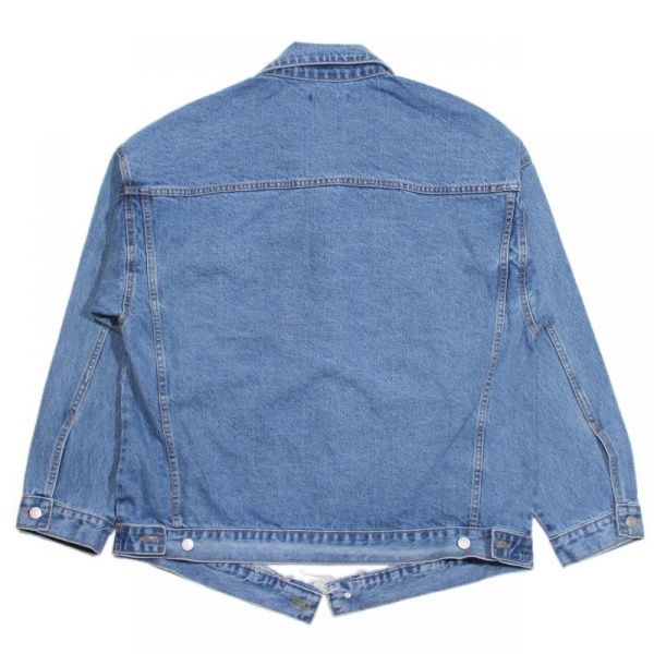 画像2: Oversize Destroyed 3rd Type Denim Jacket