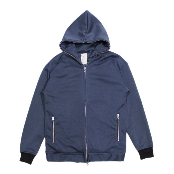 画像1: Backside Rib Hooded Jacket