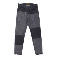 Panel Slim Denim Pants