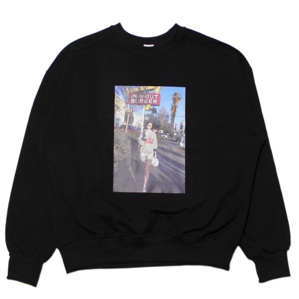 画像1: Photo Sweat Shirt