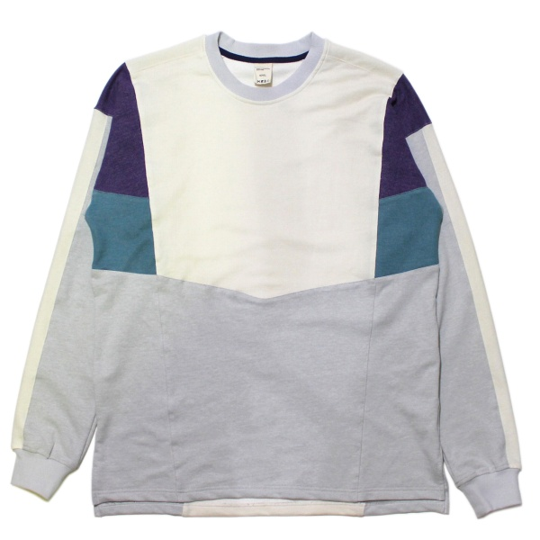 画像1: 90s Panel Sweat Shirt