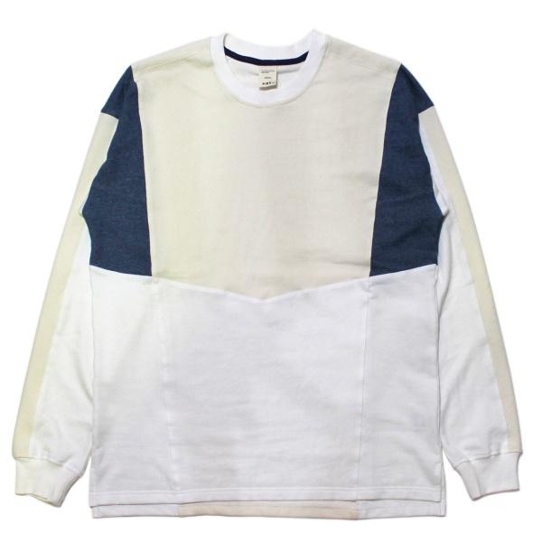 画像1: 90s Panel Sweat Shirt