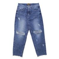 Destroyed Baggy Denim Pants