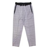 Pleated Check Pants
